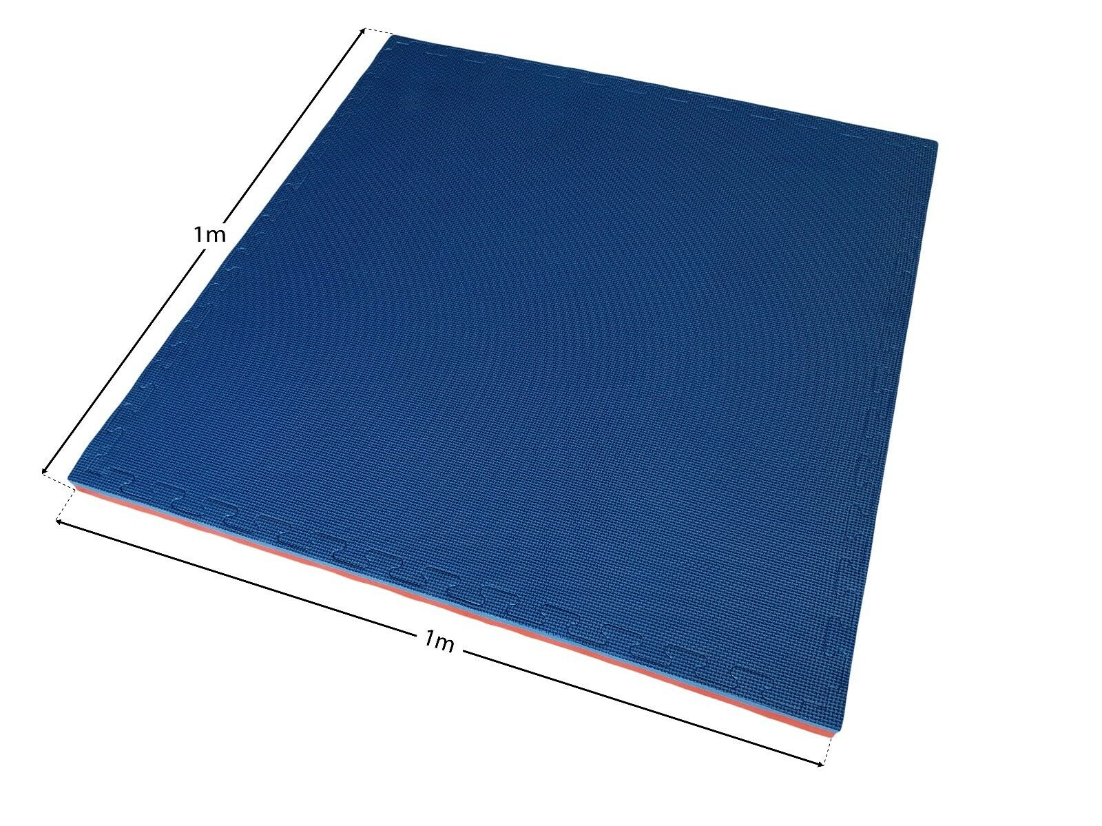 EVERMAT® 12sqm Martial Arts Tatami 20mm Judo MMA Taekwondo Red and bluee Mat