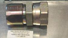 Parker Hannifin Reusable 20621 24 24 Hydraulic Hose End