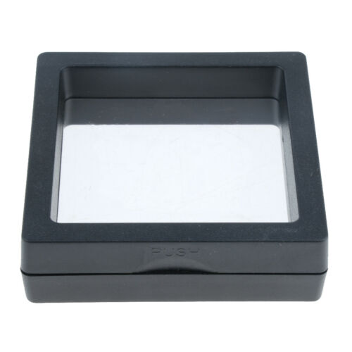 3D Floating Jewelry Display Frame Stand Box 7x7cm