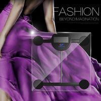 180kg Smart Digital Lcd Glass Bathroom Scale Body Weight Watchers High Precision
