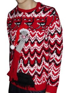 S-M Red Christmas Sweater