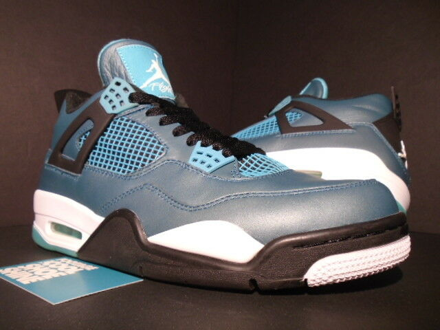 Nike Air Jordan IV 4 Retro 30th TEAL GREEN WHITE BLACK CEMENT 705331-330 OG 10