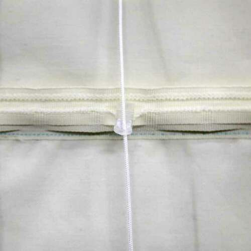 Made to measure in the UK Blackout Thermal Many Sizes Cream Roman Blind