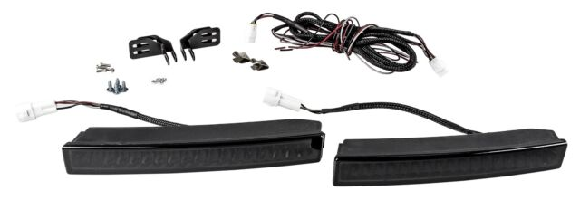SMD LED TAGFAHRLICHT BLACK-SLIM-DESIGN R87 mit DIMMFUNKTION