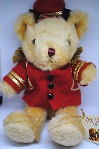 The-TEDDY-BEAR-Collection-No-7-BARNEY-THE-BELL-BOY-with-Jaunty-Cap