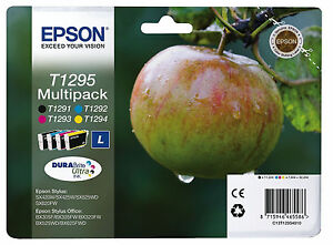EPSON-Tinte-T1295-SX235W-SX420W-SX425W-SX535WD-BX305F-BX525WD-WF-3010DW