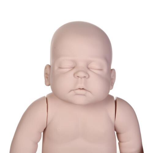 23/'/' Lifelike Reborn Baby Boy Doll Kit Full Limb Anatomically Correct Kits Mold