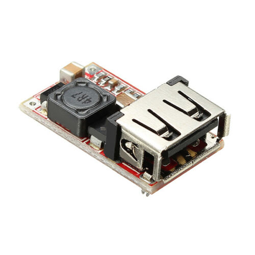 DC-DC Buck Module 6-24V 12V//24V to 5V 3A USB Step Down Power Supply Charger Effi