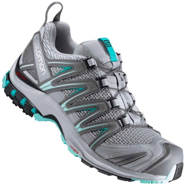 dbc7e6e8e847 Salomon Ladies Trail Running Shoes XA Pro 3d W Quarry pearl Blue ...