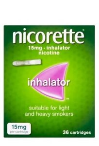 Nicorette-Inhalator-15mg-Cartridges-36-New-stock-Expiry-2021
