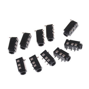 10-Pcs-PJ-320D-4-Pins-SMD-3-5mm-Female-Headphone-Jack-Connector-PCB-Mount-P-tc