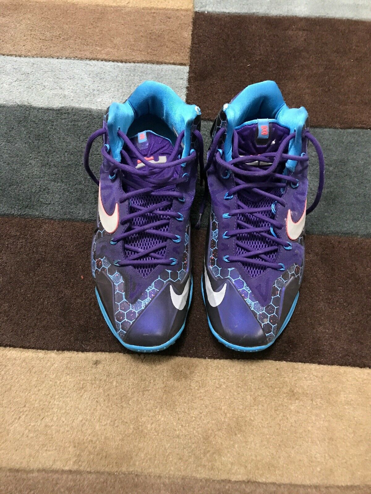 Nike Lebron 11 Summit Lake Hornets SIZE 10 US MENS VMDS