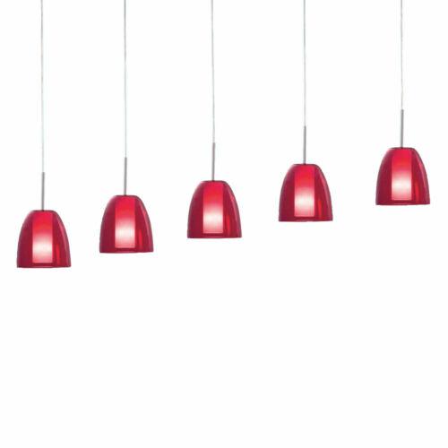 Verre De Plafond Lampe Pendule Rouge Blanc ESS Chambre Cuisine éclairage hängel Lampe
