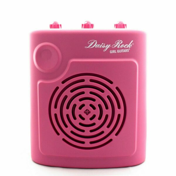 Daisy Rock Scamp Portable PINK 3w RMS Mini-Amp Headphone Output *FREE POSTAGE*