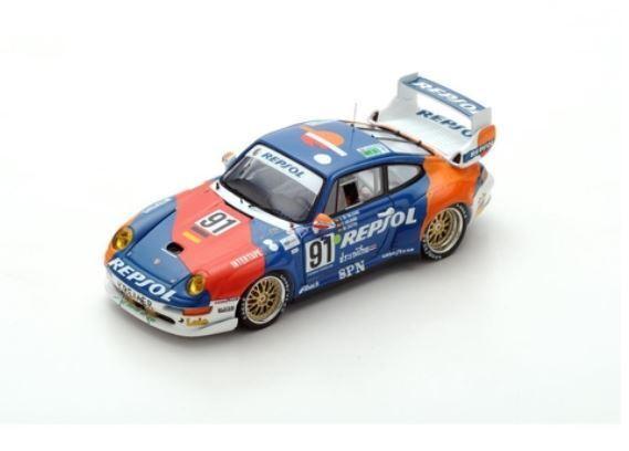Porsche 911 GT2 - d'Orléans-Borbón Saldaña de Castro - Le Mans 1995  91 - Spark