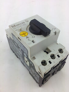 Moeller Pkzm0 25 Circuit Breaker Motor Protection Xstart Series 380 Vac 25 A Ebay