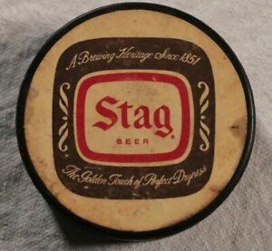 St-Louis-Blues-Stag-Beer-Hockey-Puck-SGA-Vintage-NHL-70s