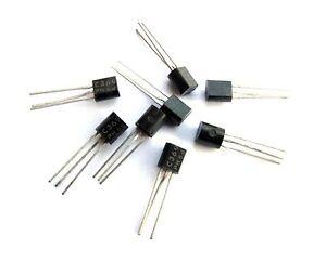 bipolar PNP 25V 800mA 625mW TO92 5x Transistor BC328-40 DIO Transistor