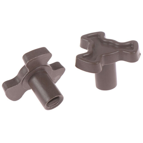 2x 17mm Microwave Oven Turntable Roller Guide Support Coupler Tray Shaft Hg