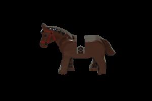Lego CITY Figur Tier Pferd braun MINIFIG Animal Horse brown