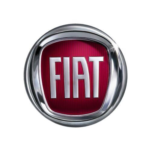 x4 50mm Wide Digitally Printed Fiat Car Logo Stickers Decals
