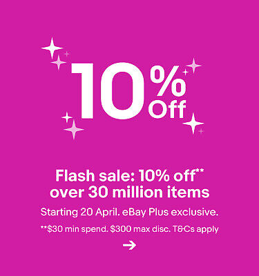 Flash sale: 10% off** over 30 million items