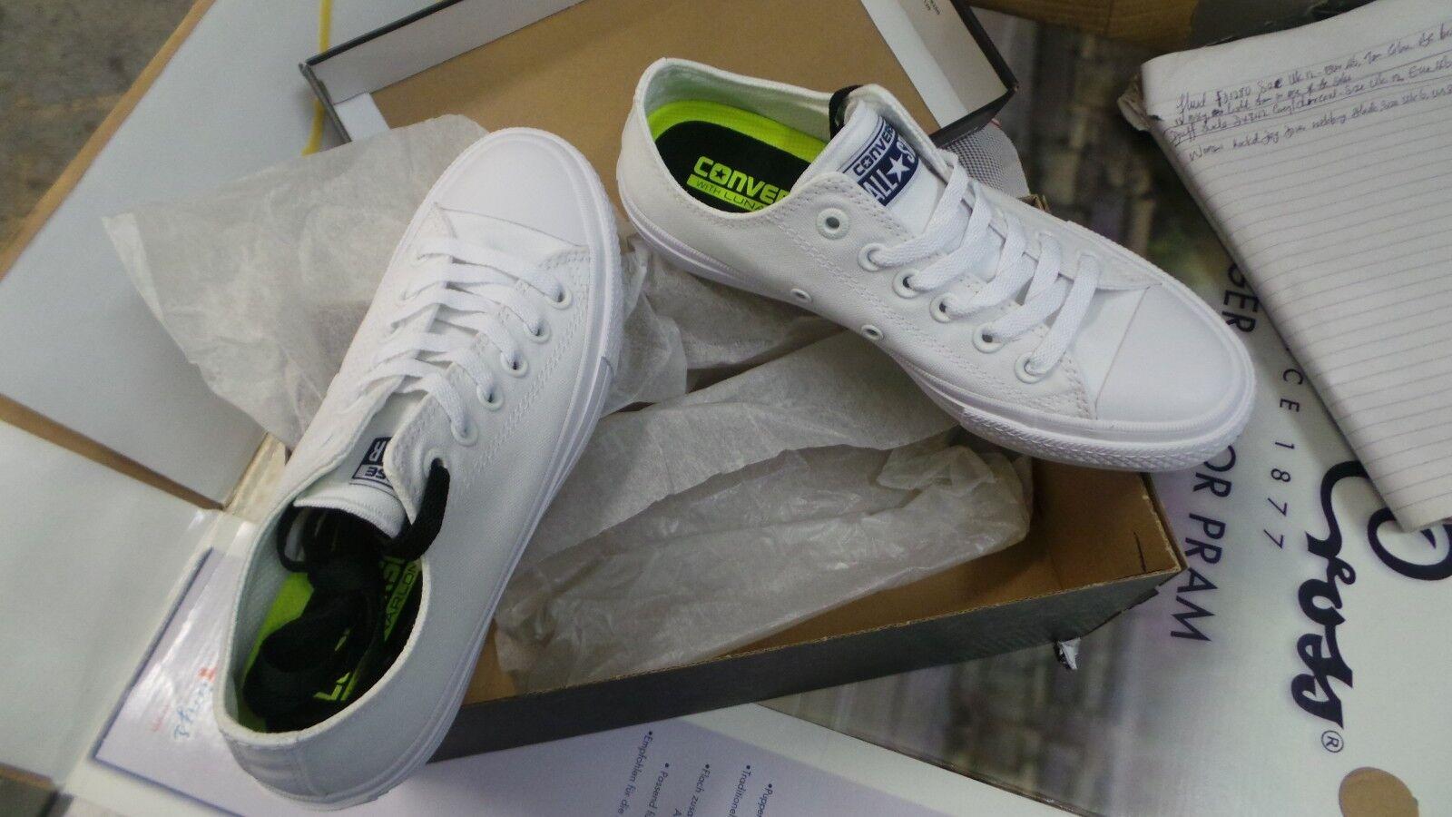 WOMEN'S UNISEX CONVERSE CHUCK TAYLOR ALL STAR II OX 150154C Sneakers UK Größe 5/7