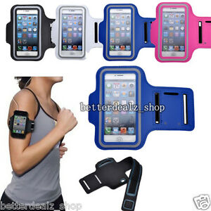 Brassard-Sport-Running-Jogging-Gym-Arm-Band-Etui-Housse-Titulaire-Samsung-iPhone