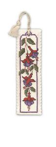 Fuchsias-Bookmark-Cross-stitch-Kit