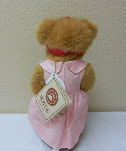 "NWT MWT 10/"" Boyds Bears /""PRECIOUS LUVINGTON/"" BEAR Poseable Plush #4026183 CUTE!"