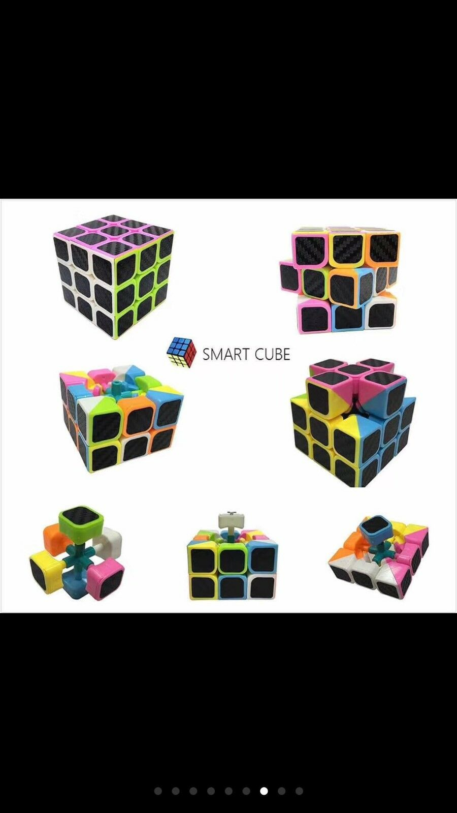 Lot Of 24pc 3x3 Brain Cube Magic Puzzle Brain Toys Gift Wholesale Free Shipping