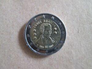 2 Euro Commemorative Belgique 2009 (pièce Ayant Circulée) Soulager La Chaleur Et La Soif.
