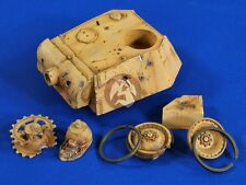 Verlinden 1/35 Point Blank Damaged Panther Ausf.G Tank Turret (Cyber Hobby) 2730