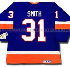 BILLY SMITH NEW YORK ISLANDERS JERSEY CCM VINTAGE BLUE 1982