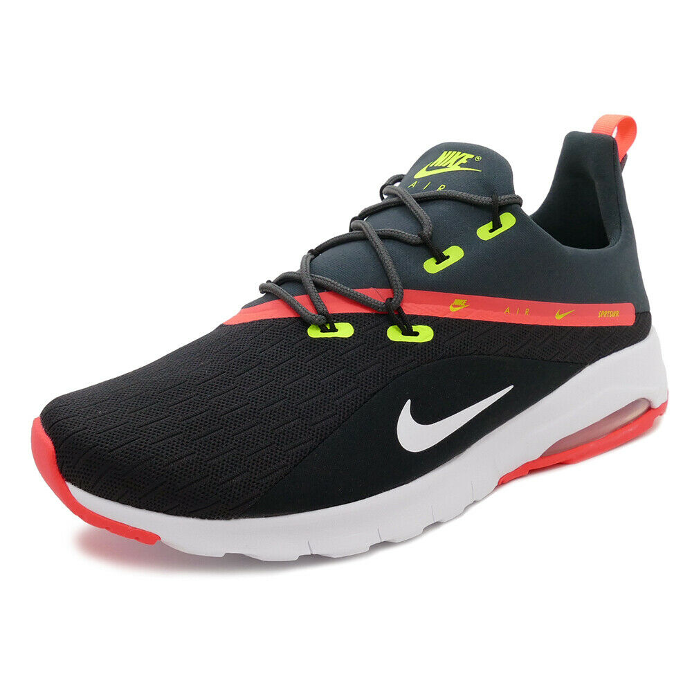 NIKE AIR MAX MOTION RACER 2 LO SNEAKER MEN SHOES PANTHER AA2178-001 SIZE 11 NEW
