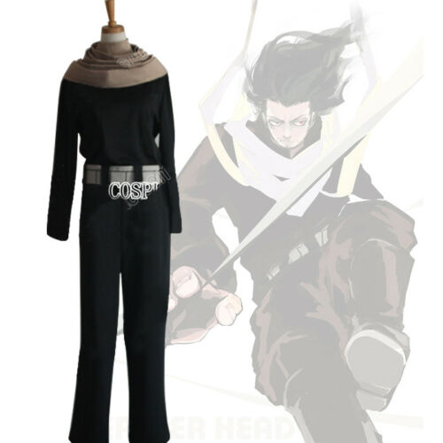 My Hero Academia Shouta Aizawa Eraser Head With Scarf Cosplay Costume Outfit