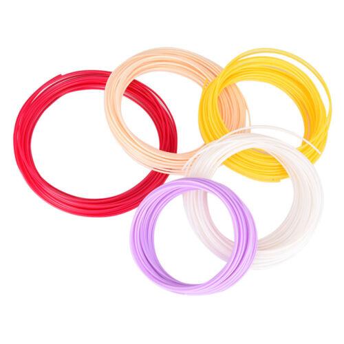 PLA 1.75mm3D Printer Filament Pen Plastic Rubber Consumable Material For3D VU