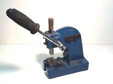 Eyelet - Grommet - Rivet - Arbor Press - 1/2 Ton  -  Baltimore, MD