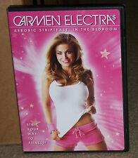 Carmen Electras Aerobic Striptease In the Bedroom DVD
