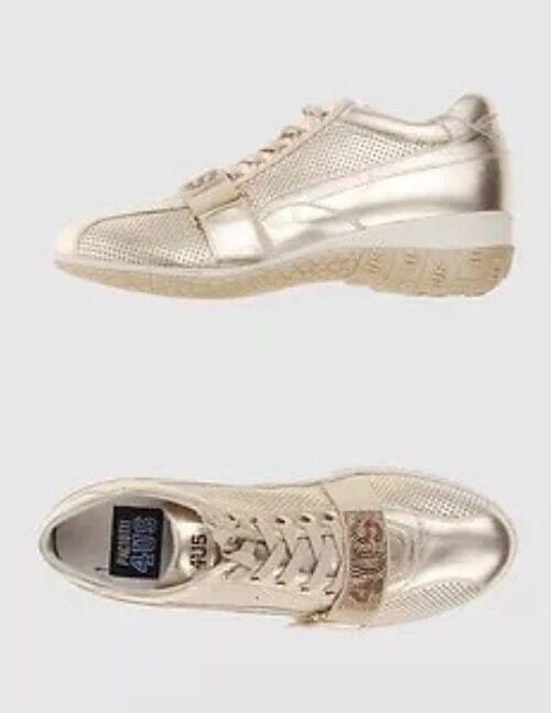 Zapatos promocionales para hombres y mujeres PACIOTTI 4US SNEAKERS ORO 39 FASCIA STRASS STRINGHE VELCRO