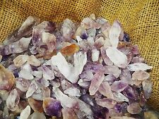 1000 Carat Lots of Amethyst Points - Plus a Faceted GEMSTONE
