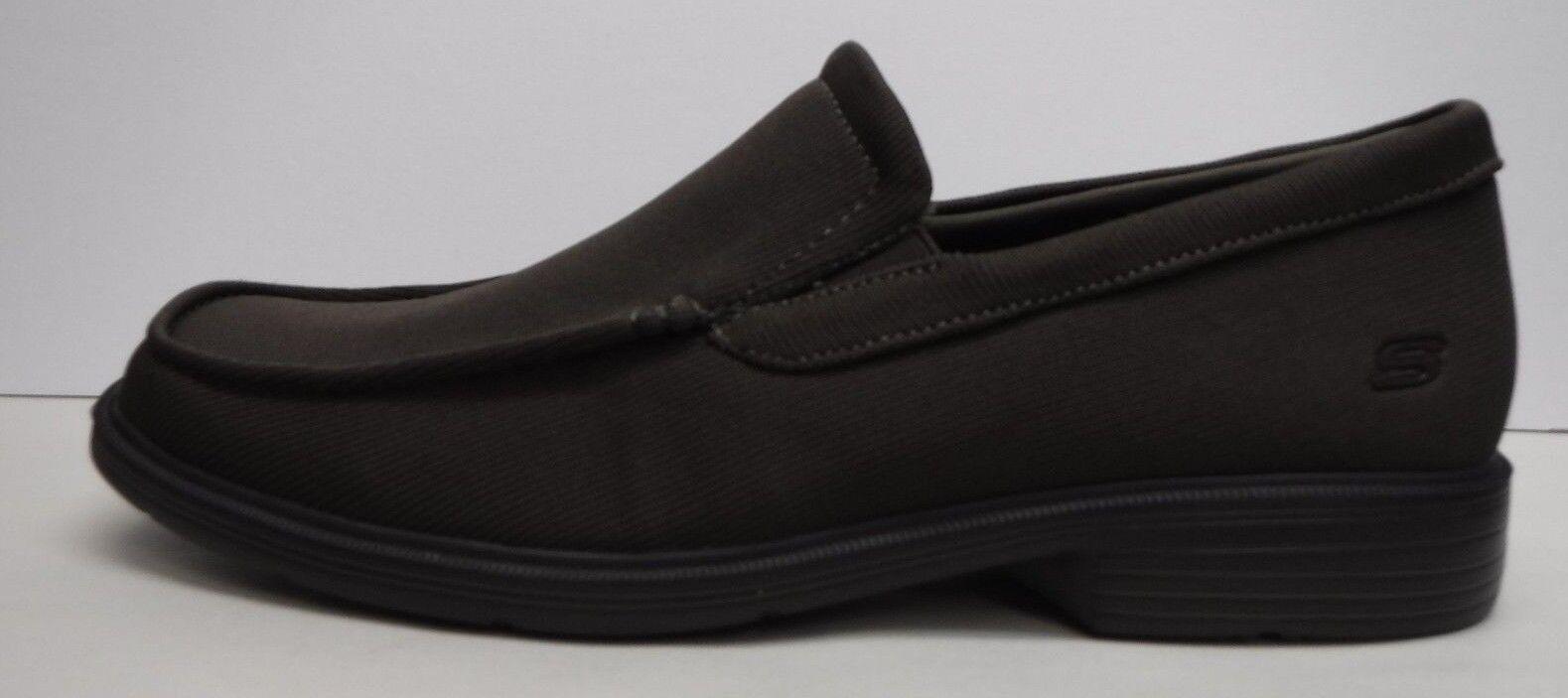 buy uitstekende kwaliteit de nieuwste Skechers Size 12 Brown Dress Knit Loafers New Mens Shoes