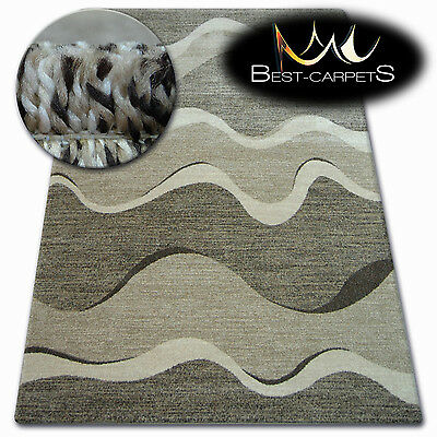 Thick Quality 20mm Modern Design Densely Soft Rugs SHADOW 8649 Large Small Size