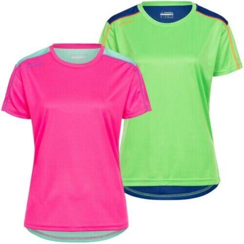 Diadora Events T-Shirt Ladies Sports Fitness Training Shirt 102.171213 New