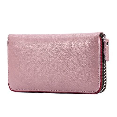 Womens Wallet Genuine Leather Card Holder Money Bag Lady Coin Purse Organizer