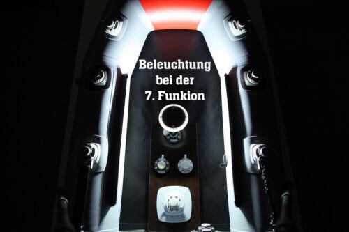 3 Farben Rot Grün Weiß Fasten Lonako LED Positionslicht Boote eingebauter Akku
