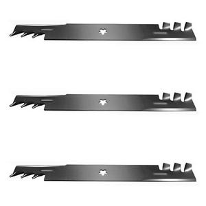 3 Pack Copperhead Mulcher Blades Fits Husqvarna 521981601 539113312 14392