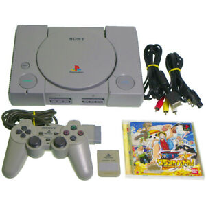 Sony-PS1-Console-SCPH-7000-Game-Japan-Import-PSX-PS1-Playstation-Working-NTSC-J