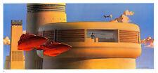STAR WARS MCQUARRIE EMPIRE - 50 X 15 CM - ILLUSTRATION N°21 PORTFOLIO - VINTAGE