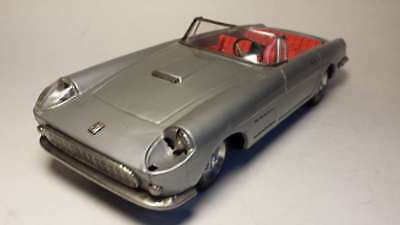 Beliebte Marke Bandai Ferrari Cabriolet Silber Original Alles Funktioniert! Verm. 250 Gt Extrem Effizient In Der WäRmeerhaltung
